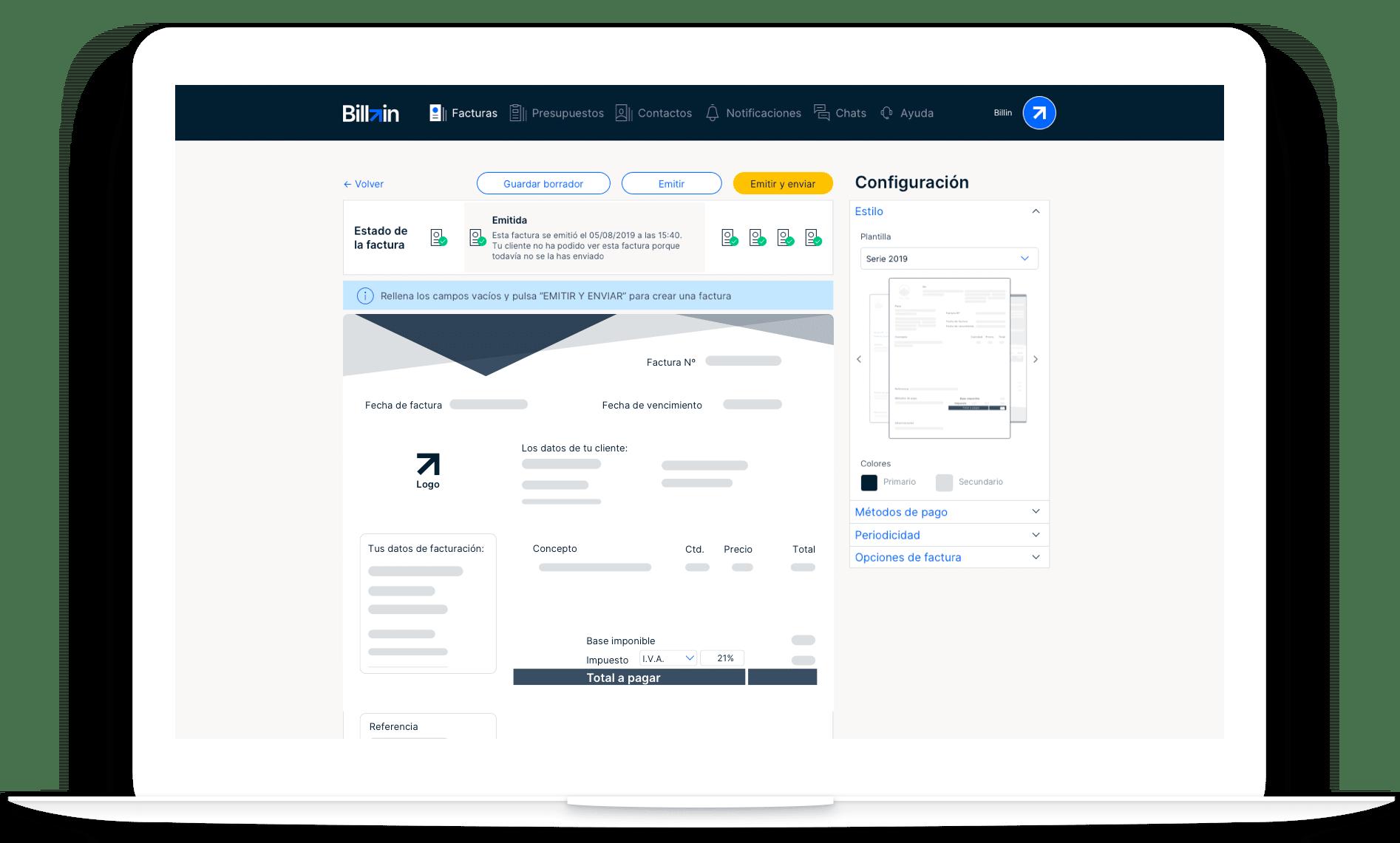 facturas online