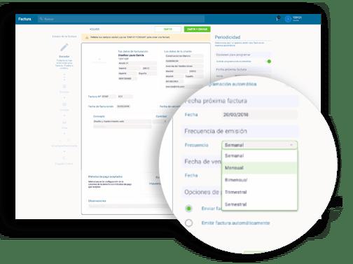 Software de gestión de cobro de facturas
